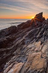 Rocky Outcrop || COFFS HARBOUR || NSW (rhyspope) Tags: australia aussie nsw new south wales canon 5d mkii coast coastal sunrise flare sunstar rock shelf sea ocean coffs harbour macauleys headland rhys pope rhyspope