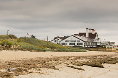 Cape Cod - Lighthouse Inn (M-M_Photo) Tags: cape cod capecod lighthouseinn lighthouse light house inn hotel beach shore ocean sand dunes sanddunes ma massachusetts newengland yankee water seaweed clouds dark gloomy storm stormy fall tourism best bestbeachesincapecod sightseeing sky
