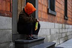 Alone () Tags:          homelessness homeless      temple   taiwan taipei taipeicity historic  stairs