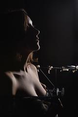 Elisa Zanotto (elparison) Tags: zanotto tits young model controluce shadow downblouse