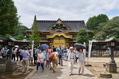 Ueno Toshogu (yiming1218) Tags:   ueno toshogu      architecture temple tokyo japan japanese park