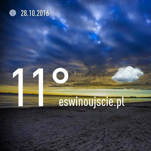 #swinoujscie #świnoujście #eswinoujscie #pogoda #październik #wiatrak #uznam #usedom #szysz