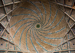 Vakil mosque prayer hall ceiling, Fars province, Shiraz, Iran (Eric Lafforgue) Tags: 0people ancient architectural architecture building builtstructure ceiling colorimage cultural culture decorated decoration decorations design detail heritage historic historical history horizontal indoors iran iranian iranianculture islam islamic middleeast mosque nopeople nobody orient ornamentation ornate persia persian photography placeofinterest qajar shiism shiraz traditional travel traveldestinations up vakil farsprovince
