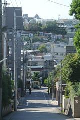 nagoya15933 (tanayan) Tags: urban town cityscape aichi nagoya japan nikon j1 road street alley    slope