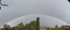 Colores de la luz (Elena Martn.) Tags: canon rainbow arcoiris cielo sky