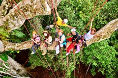 "Macucu Tree Climbing in Amazon. Manaus, Brazil. Feb 2011 #itravelanddance • <a style=""font-size:0.8em;"" href=""http://www.flickr.com/photos/147943715@N05/30392846502/"" target=""_blank"">View on Flickr</a>"