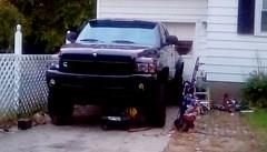 Pickup truck - HTT. (Maenette1) Tags: pickup truck happytruckthursday menominee uppermichigan flicker365