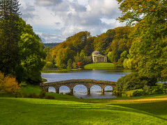 One day in autumn (Wizard CG) Tags: stourhead autumn national trust lake tree reflections wiltshire landscape garden