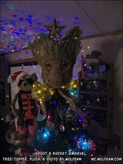 wolfenm-grootmas2016101_1320 (WolfenM) Tags: groot grootmas rocketracoon solstice solsticetree yule xmas xmastree christmas gotg guardiansofthegalaxy 2016