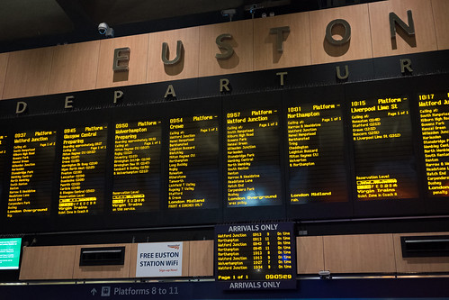 "Euston, London • <a style=""font-size:0.8em;"" href=""http://www.flickr.com/photos/22350928@N02/30457958081/"" target=""_blank"">View on Flickr</a>"