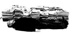 Print wirkt @Deichtorhallen | Hamburg (thomas.aus.kempen) Tags: juxtapose sw mann selfie deichtorhallen hamburg ausstellung ffentlich street performance print wirkt printwirkt deutschefachpresse