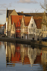 Beloved Brugge (Natali Antonovich) Tags: belovedbrugge brugge belgie belgium belgique bruges landscape architecture canal water lifestyle tradition style oldtown oldtime oldworld oldest reflection parallels pensiveautumn autumn