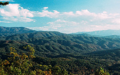 smoky mountains (margaret meredith lord) Tags: blue outdoors blues film shadesofblue