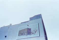 Pinned (nroclaniffirg) Tags: cinestill montreal oldport vieuxport downtown mural streetart quebec canada urban film analog 35mm