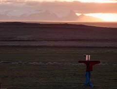 Iceland - May 2015 (3 Wild Sheep) Tags: 2016 iceland osar vatnsnespeninsula midnightsun orange scarecrow spring