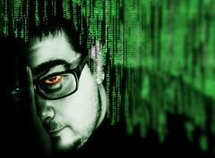 Matrix.jpg (mabo4x41) Tags: elements matrix grn green portrait selbstportrait selfie nikon d7000 50mm f18 photoshop