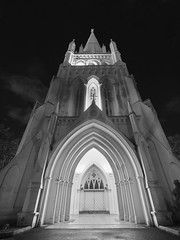 St Andrew's Cathedral HDR (crystalpenelope) Tags: olympus singapore omd em5mii em5markii em5m2 mirrorless st andrews cathedral church monochrome architecture hdr