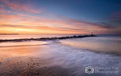 Hengistbury Head - Dorset (Explored 19/11/16) (Christopher Pope Photography) Tags: dorset hengistburyhead beach sunrise wwwchristopherpopephotographycom mudeford bluehour dawn longexposure surf nikond610 christopherpopechristopherpopephotography mudeforfdsplit nikon sea