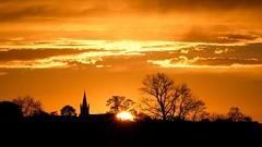 Aartrycke Sky (Drummerdelight) Tags: smileonsaturday vividorange into sun sunlight intothesun sunlightset