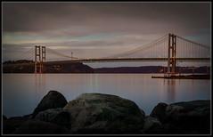 Twin Narrows Bridges (Ernie Misner) Tags: narrowsbridge bridge narrows tacoma washington erniemisner nikon d800 lightroom nik capturenx2 cnx2 f8andbeatthebluehour