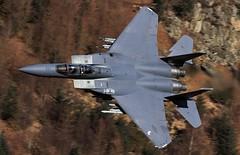 Strike  Eagle (Dafydd RJ Phillips) Tags: f15e f15 wales snowdonia military aviatuon fighter jet low level mach loop strike eagle usa usaf lakenheath ln301