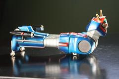 Rare Groizer-X (Nakajima 1970's) (Donald Deveau) Tags: raretoy vintagetoy groizerx nakajima magnemo magnetic japanesetoy japanesecharacter robot anime diecast metal