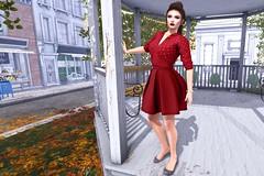 Lucky Dress (kirstentacular) Tags: anypose cae catwa elikatira freebies friday groupgift league maitreya thesecretstore
