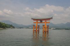 Itsukushima Shrine Torii 2 (www78) Tags: miyajima japan itsukushima shrine torii