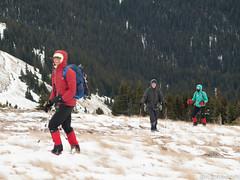 Barb, Peter, Julia (David R. Crowe) Tags: landscape mountain mountainscrambling nature outdooractivities scrambling turnervalley alberta canada