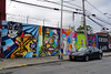 Welling Court Mural Project - Astoria, Queens, NYC (SomePhotosTakenByMe) Tags: animal tier auto car wall mauer usa urlaub vacation holiday nyc newyork newyorkcity america amerika queens astoria mural wandbild kunst art graffiti wellingcourt wellingcourtmuralproject muralproject outdoor