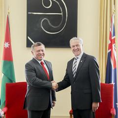 (Royal Hashemite Court) Tags:     jordan joroyalvisit kingabdullahii kingabdullah new zealand