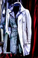 Du cuir, du daim, du latex (Morgane De Greef - Pachen) Tags: vetements veste robe cuir daim latex matires artsmnagers belgique charleroi texture
