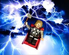 Thor,God of Thunder (Legoagogo) Tags: england lego thor avengers chichester moc afol legoagogo