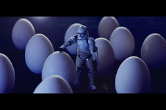 I don't know sir... it looks like some kind of.... eggs... (Aardvarklord) Tags: lighting storm trooper dark movie toy actionfigure starwars alien stormtrooper horror eggs cinematic facehugger canon2470l 580exii