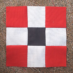 Wednesday, 4/11 (amyehodge) Tags: quilt squares quilting block ninepatch 9patch piecing handsewing handpiecing