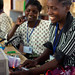 Solar engineering student from Malawi, training in India