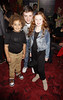 Devon Higgs, James Forde and Maisie Smith 'Shrek The Musical' first anniversary performance held at Theatre Royal - Inside London, England