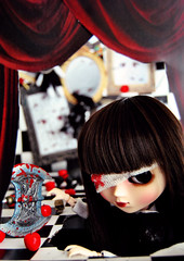 Norah (PQ - Ronda 3) (♪♫ Z u R i ♫♪) Tags: outfit doll handmade ace dream jp wig mycats groove pullip nightmare spawn rement blanche diorama junplanning obitus rewigged stica pullipblanche crobidoll orcara odekakeshoesbags fruistofthewolrd