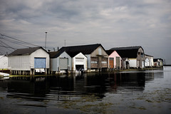 Boathouses (Metro Tiff) Tags: houses port docks boats boat ryerse