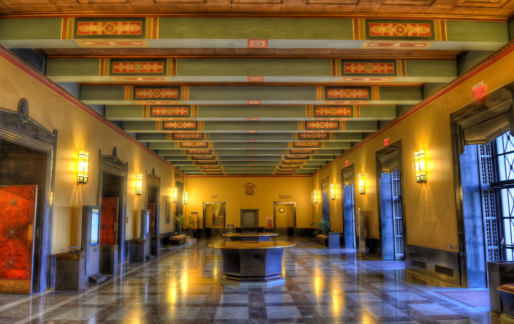 Inside Rackham Graduate School Building