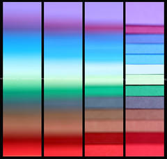 In my mind... it's rainbow. (Maria Dattola) Tags: italy copyright abstract macro colors canon eos rainbow italia  reggiocalabria 28 astratto colori arcobaleno calabria linee strisce fogli 2013 100mmlens 1000d mariadattola