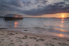 Studland (nzweeble) Tags: sunset canon tokina 7d purbeck studland 1116