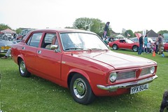 1972 Morris Marina 1.3 DL (Trigger's Retro Road Tests!) Tags: show classic car corner little may essex clacton plough 2013