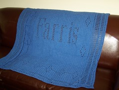 Farris Afghan (cater it simple) Tags: crochet afghan denimyarn