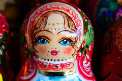 matrioshka (Igor Golovnov) Tags: woman cute girl smiling female toy design wooden colorful doll pattern bright symbol artistic puppet market russia handmade unique painted traditional craft folklore souvenir national gift figure attractive ornate russian cultural matrioshka matryoshka matreshka slavic