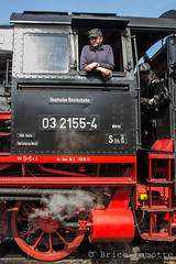 Dampf Lok Freunde Berlin 09 (Brice Lamotte) Tags: railroad berlin train rail steam locomotive lok gleis dampf lokomotiv tchoo