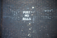 post no bills (jephfoust) Tags: 35mm cctv f17 fotasy