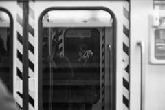 (whachadoin) Tags: blackandwhite blancoynegro film analog subway analogica summicron50mmcolapsible zeissikonzm