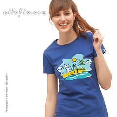 Beach T-shirt (ailofiu tees) Tags: summer sun hot beach coast seaside sand holidays warm tshirt shore rest leisure summertime seashore foreshore goodtime ailofiutees