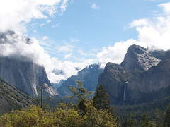 Tunnel View on Yosemite National Park (Dlp-o-Rama) Tags: california park usa national yosemite westcoast